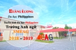 TUYỂN SINH DU HỌC PHIIPPINES TRƯỜNG ANH NGỮ SMEAG 2018 -2019